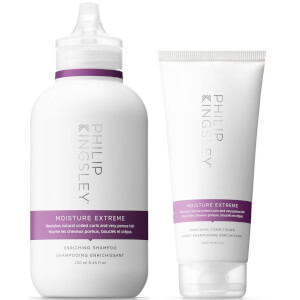 Philip Kingsley Moisture Extreme Duo - Shampoo & Conditioner (Worth $68)