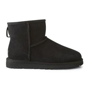 UGG Women's Classic Mini Sheepskin Boots - Black