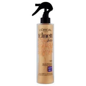 Spray Elnett Satin Heat Protect da L'Oreal Paris - Liso (170 ml)