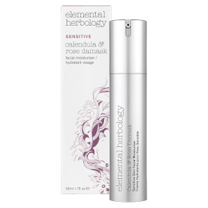 Elemental Herbology Sensitive Ringelblume & Damaszenerrose Gesichtspflege (50ml)