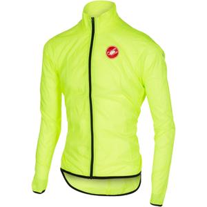 Castelli Squadra Due Cycling Jacket - Yellow