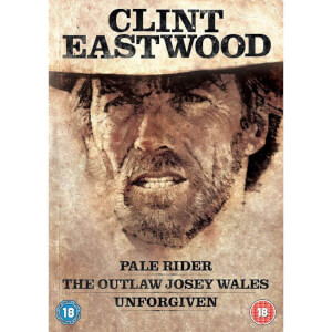 Clint Eastwood Westerns Verzameling (Pale Rider, Unforgiven, Outlaw Josey Wales)