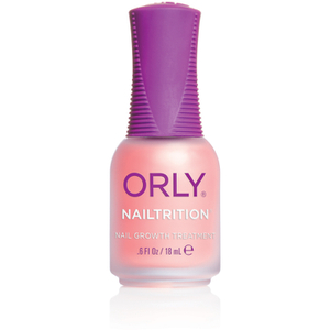 Base fortalecedora de uñas ORLY Nailtrition (18ml)