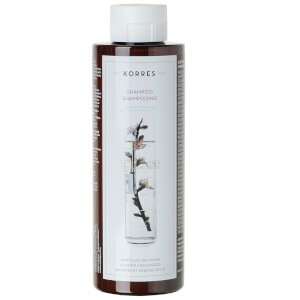 Champú de almendra KORRES Almond and Linseed - cabello seco/dañado (200ml)