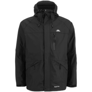 Trespass Men's Corvo Waterproof Jacket - Black