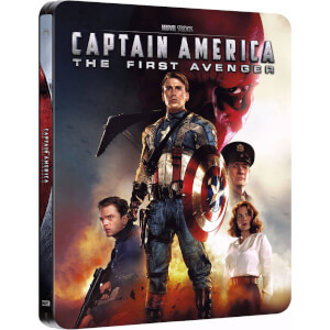 Captain America - Zavvi Exclusive Limited Edition Steelbook