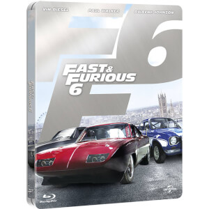 Fast and Furious 6 - Steelbook Exclusif Limité pour Zavvi