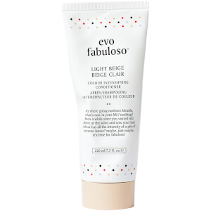 evo Fabuloso Colour Boosting Conditioner/Treatment - Light Beige 220ml