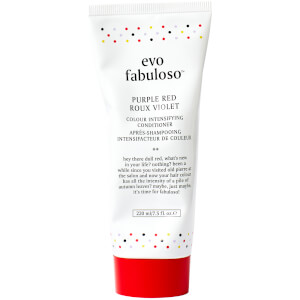 evo Fabuloso Colour Boosting Conditioner/Treatment - Purple Red 220ml