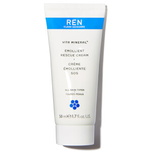 REN Clean Skincare Vita Mineral Emollient Rescue Cream 50ml
