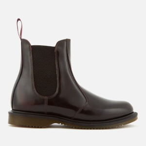Dr. Martens Women's Floria Arcadia Leather Leather Chelsea Boots - Cherry Red