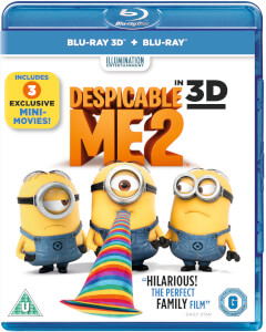 Gru 2, mi villano favorito (incluye copia UV) - 2D + 3D