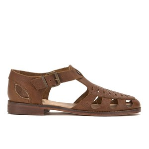 H Shoes by Hudson Women's Sherbert Leather Sandals - Tan