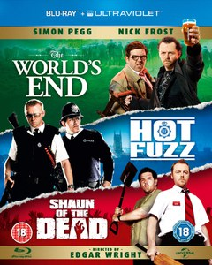 The Worlds End / Hot Fuzz / Shaun of the Dead (Bevat UltraViolet Copy)