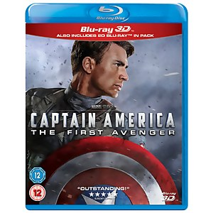 Captain America: The First Avenger 3D (Inclusief 2D Versie)