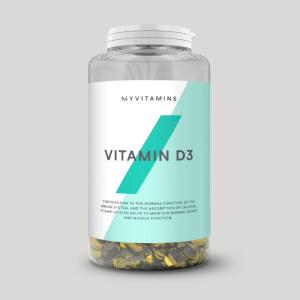 Vitamina D3 em Cápsulas