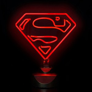 Superman Neon Licht von DC Comics
