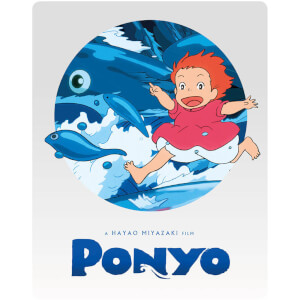 Ponyo - Steelbook Edition (Includes DVD)