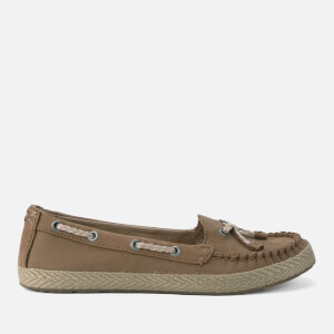 UGG Women's Chivon Leather Moccasin Shoes - Chestnut