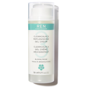 REN Clean Skincare Clearcalm 3 Replenishing Gel Cream 50ml