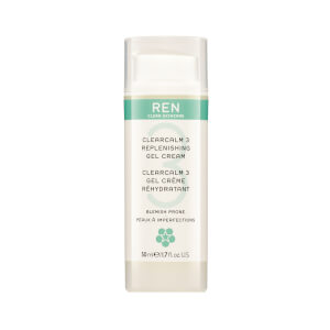 Gel-crema REN Clear Calm 3 Replenishing Gel Cream 50ml