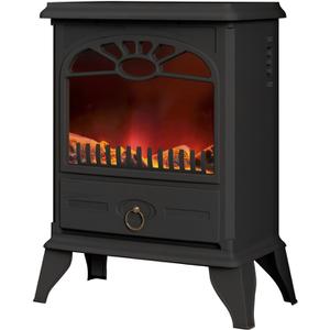 Warmlite WL46004 Log Effect Stove Fire - Grey - 2000W