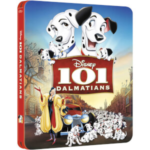 101 Dalmatiner - Zavvi exklusives Limited Edition Steelbook (Disney Kollektion #10)