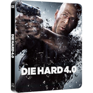 Stirb langsam 4.0 - Zavvi exklusives Limited Edition Steelbook