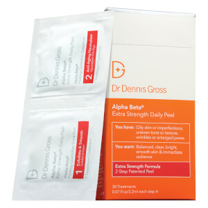 Dr. Dennis Gross Alpha Beta Peel Extra Strength Formula (30 Packets)