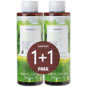 KORRES 1+1 Shower Gel Basil Lemon 250ml x2