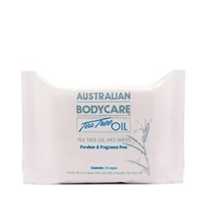Australian Bodycare Handy Pack Wipes (pakke med 24)