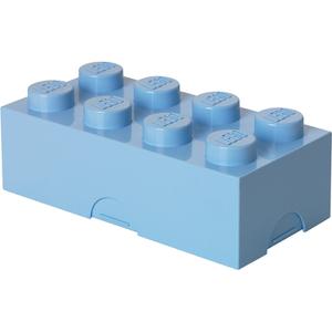 Lunch Box Boîte à Déjeuner Lego -Bleu Clair