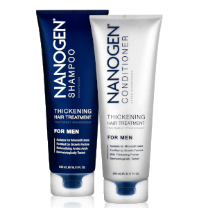 Lot Nanogen Thickening Treatment Shampoo et Conditioner pour hommes