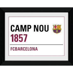 Barcelona Street Sign - 16