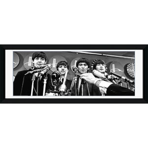 "The Beatles Interview - 30"""" x 12"""" Framed Photographic"
