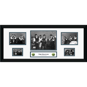"The Beatles The Cavern - 30"""" x 12"""" Framed Photographic"