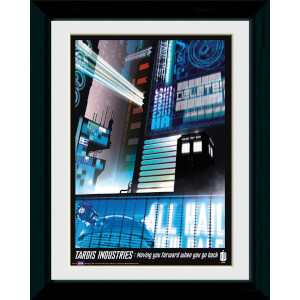 Doctor Who Tardis Industries - 30 x 40cm Collector Prints