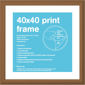 Pine Frame 40 x 40cm