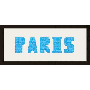 GB Cream Mount Paris Photo Font - Framed Mount - 12