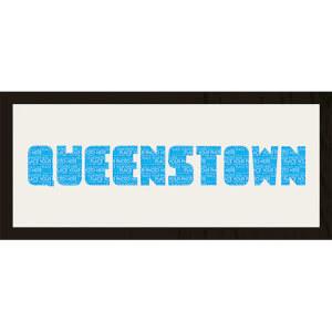 GB Cream Mount Queenstown Photo Font - Framed Mount - 12