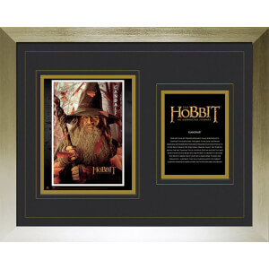 The Hobbit Gandalf - High End Framed Photo - 16