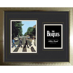 "The Beatles Abbey Road - High End Framed Photo - 16"""" x 20"""