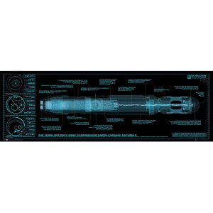 Doctor Who Sonic Screwdriver - Midi Poster - 30.5cm x 91.5cm