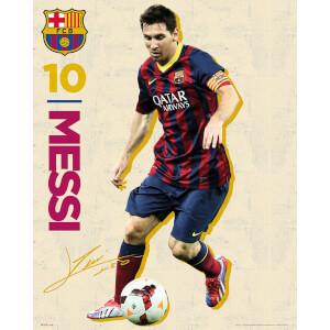 Barcelona Messi Vintage 13/14 - Mini Poster - 40 x 50cm