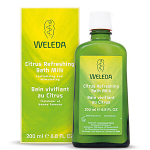 Weleda Citrus Refreshing Bath Milk (200 ml)