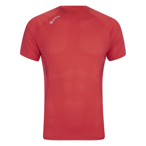 Skins Men's 360 Short Sleeve Tech Fierce Top - Red