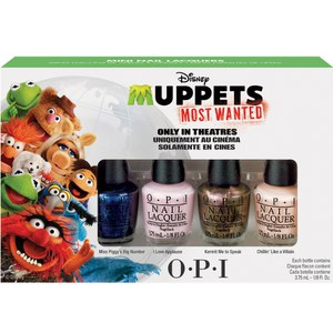 OPI Muppets  4 Mini Polish Collection