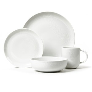 Jamie Oliver White 16 Piece Starter Dinner Set