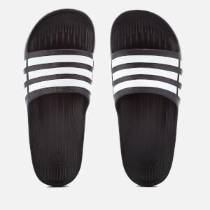 adidas Swim Duramo Slide Sandals - Core Black