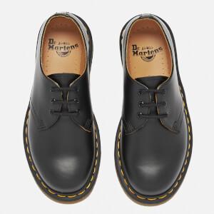 Dr. Martens 1461 Smooth Leather 3-Eye Shoes - Black: Image 2